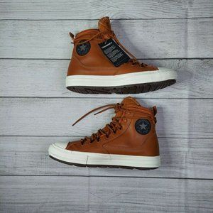 Converse Mens Chuck Taylor All Star 168862C Brown Sneaker Shoes Size M 10 W 12